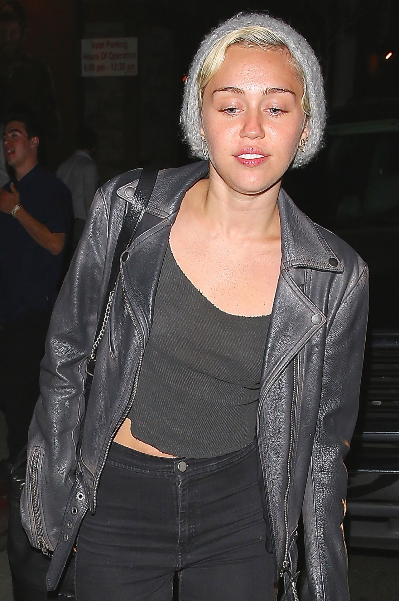 Miley Cyrus Night Out Style West Hollywood April 2015
