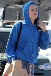 Miley Cyrus Shopping at CVS Pharmacy in Studio City, April 2015
