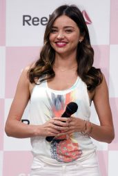 Miranda Kerr - Reebok Skyscape Press Conference in Tokyo, April 2015
