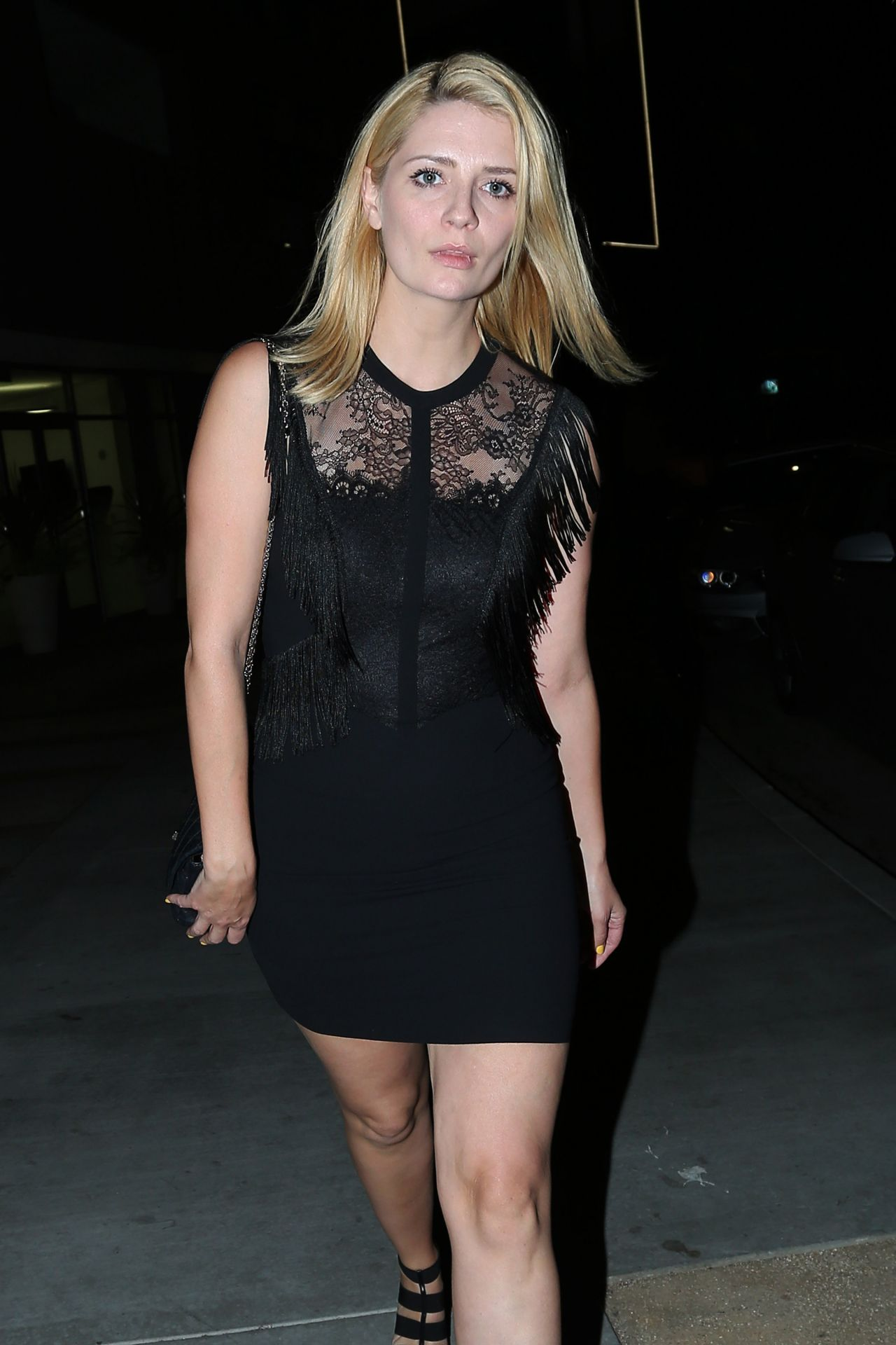Mischa Barton at The Nice Guy Restaurant in West Hollywood – April ...