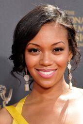 Mishael Morgan – 2015 Daytime Emmy Awards in Burbank