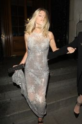 Mollie King - Leaving LDNY Fashion Show and WIE Award Gala at Goldsmiths