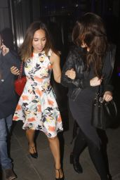 Myleene Klass - Celebrates her Birthday at SUSHISAMBA in Bishopsgate in London