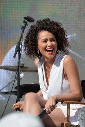 Nathalie Emmanuel - Furious 7 Concert Hosted by REVOLT in Hollywood