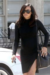 Naya Rivera Style - Out in Los Angeles, April 2015