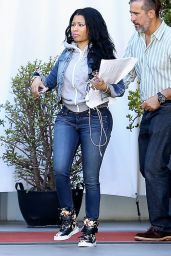 Nicki Minaj Booty in Jeans - Out in Los Angeles, April 2015
