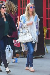 Nicky Hilton Coachella Style - Out in NYC, April 2015