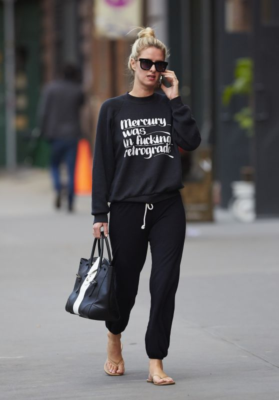 Nicky Hilton Street Style - April 2015