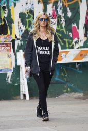 Nicky Hilton - Wearing a