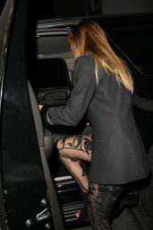 Nicole Scherzinger Night Out Style - Leaving Warwick Nightclub in Hollywood, April 2015