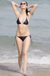 Nicole Trunfio in a Bikini on Bondi Beach - April 2015