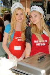 Olivia Holt at Los Angeles Mission Easter Event 2015