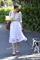 Olivia Munn Style - Out in Los Angeles, April 2015