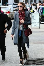 Olivia Palermo Casual Style - Out in Soho, New York, April 2015