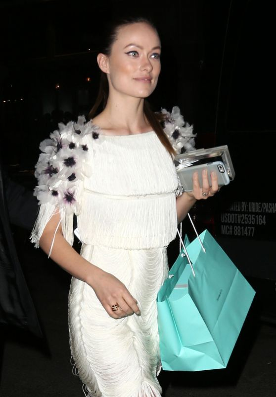 Olivia Wilde - Tiffany Blue Book Dinner in New York City
