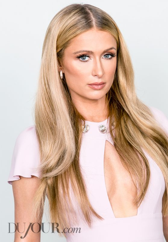 Paris Hilton - Dujour Magazine April 2015 Issue