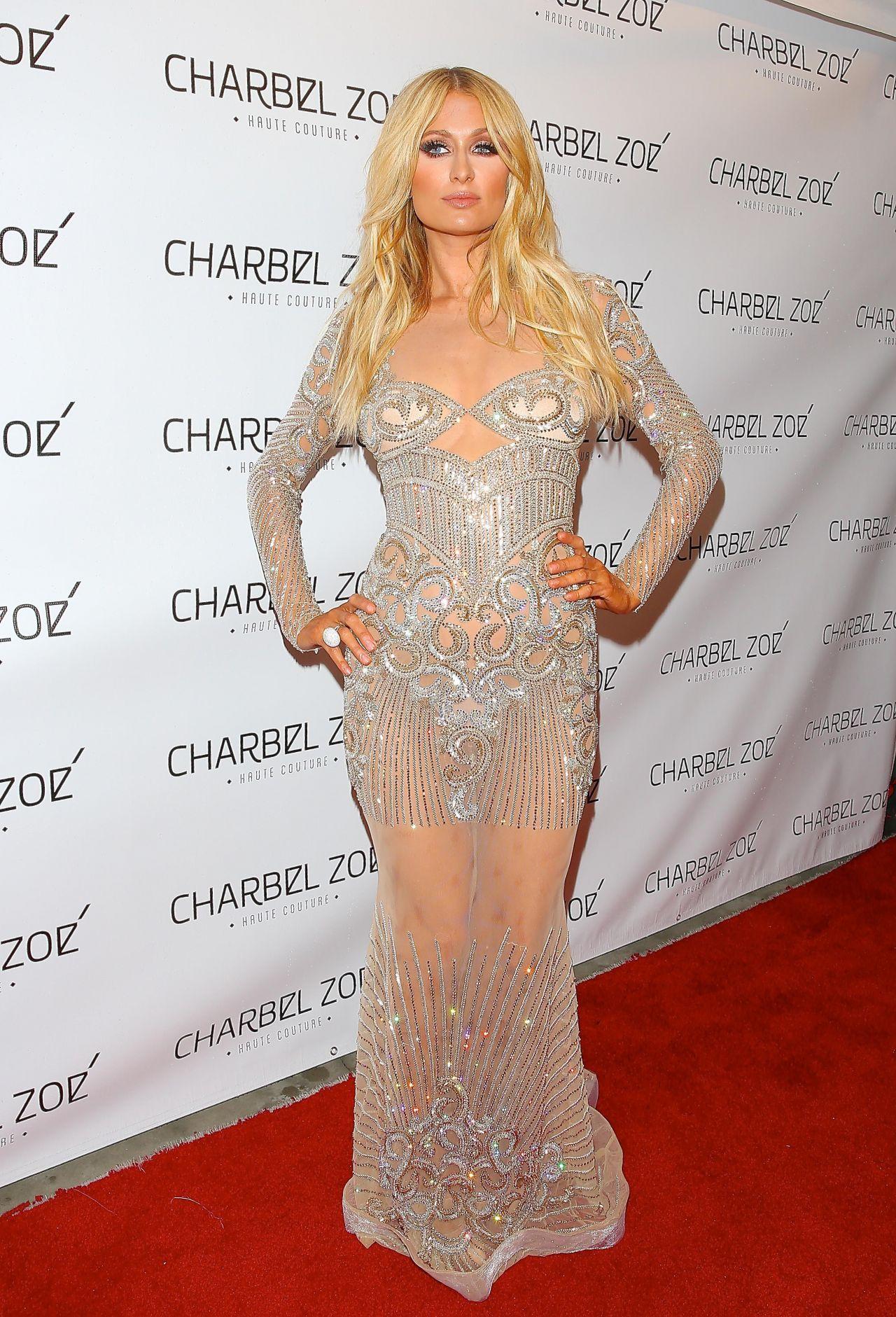 Paris Hilton Style – Charbel Zoe Melrose Store Opening, April 2015 Paris Hilton