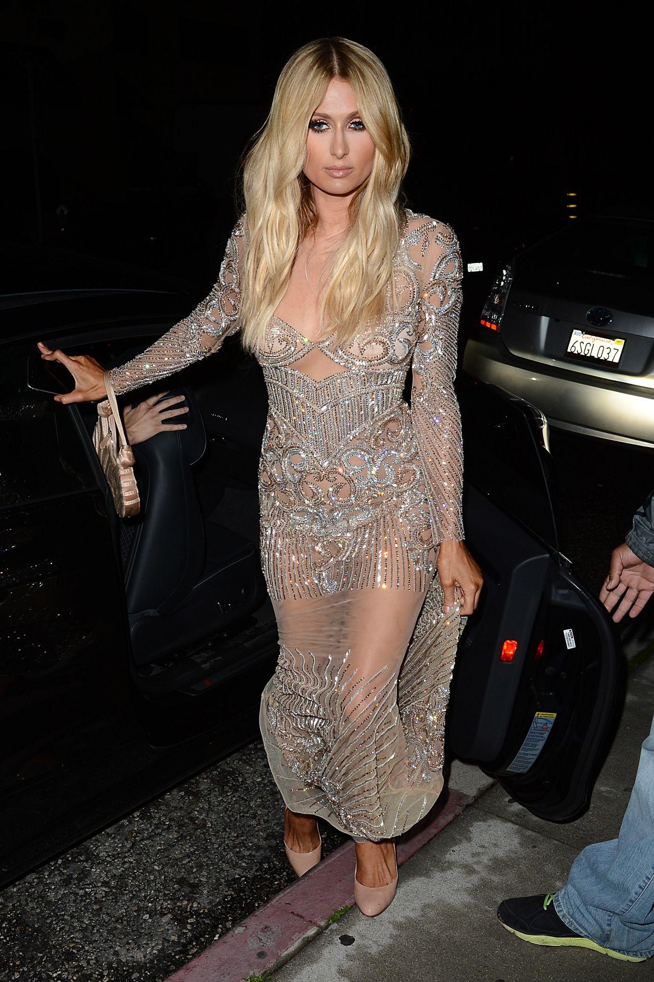 Paris Hilton Style - Charbel Zoe Melrose Store Opening ...