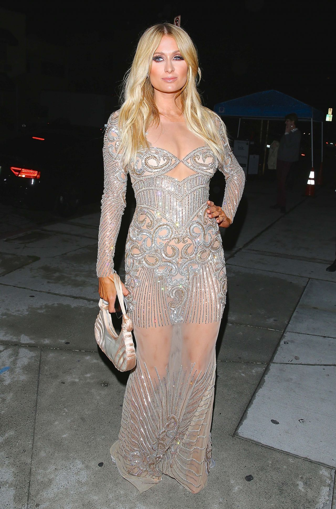 Paris Hilton Style Charbel Zoe Melrose Store Opening