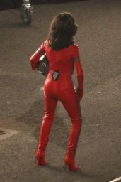 Penelope Cruz - Filming Zoolander2 in Rome, April 2015