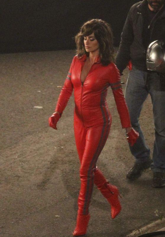 Penelope Cruz - Filming Zoolander2 in Rome, April 2015