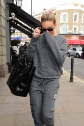 Perrie Edwards - Leaving a Studio in London, April 2015
