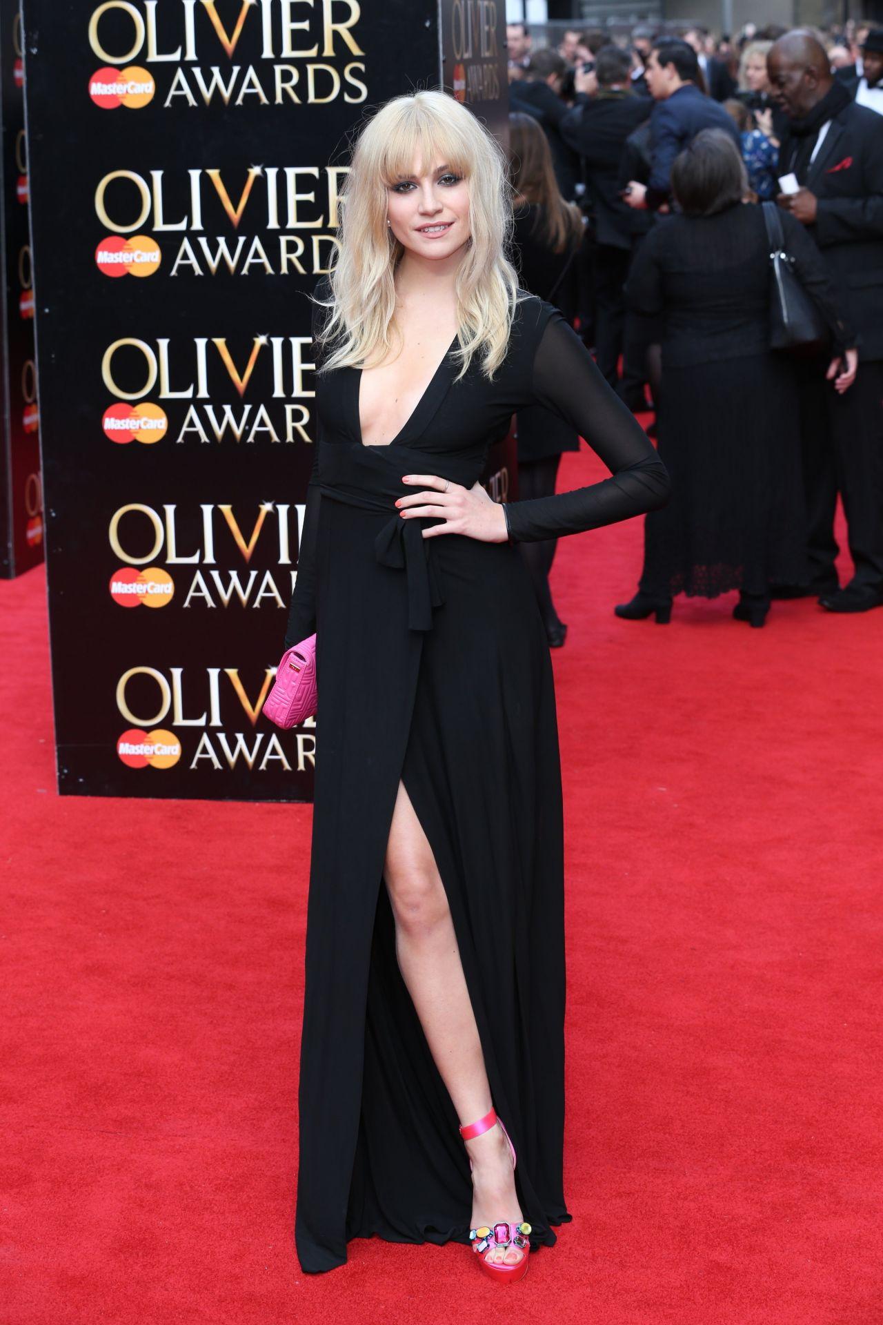Pixie Lott – 2015 Olivier Awards in London