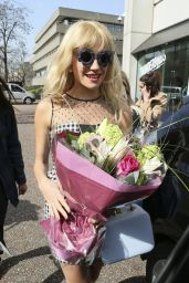 Pixie Lott Style - at the ITV Studios in London, April 2015