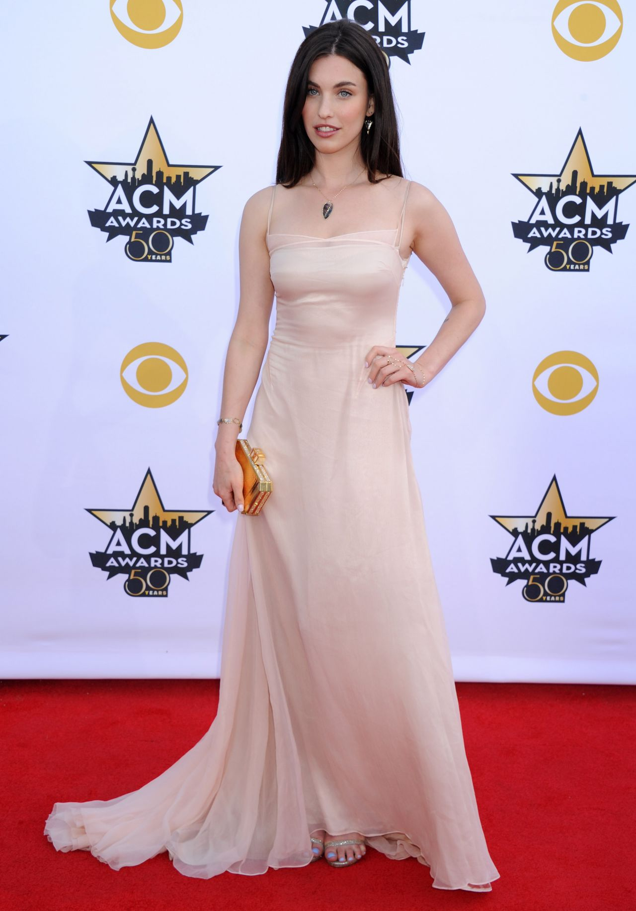 Rainey Qualley 2015 Academy Of Country Music Awards In