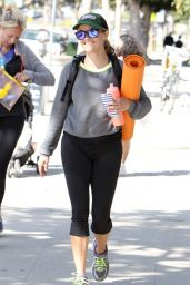 Reese Witherspoon in Leggings - Leaving a Gym in Brentwood, April 2015