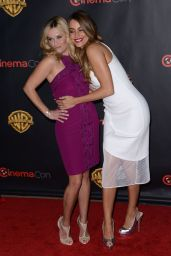 Reese Witherspoon & Sofia Vergara - Warner Bros Presentation at Cinemacon in Vegas, April 2015