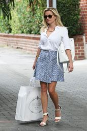 Reese Witherspoon Style - Leaving Her Office Beverly Hills, April 2015