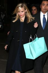 Reese Witherspoon - Tiffany Blue Book Dinner in New York City