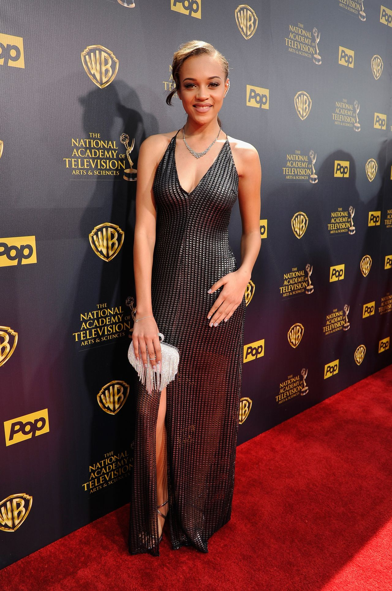 Reign Edwards 2015 Daytime Emmy Awards In Burbank