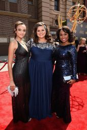 Reign Edwards – 2015 Daytime Emmy Awards in Burbank