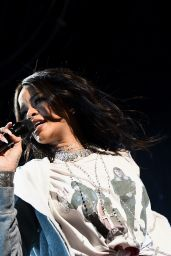 Rihanna Performs at NCAA