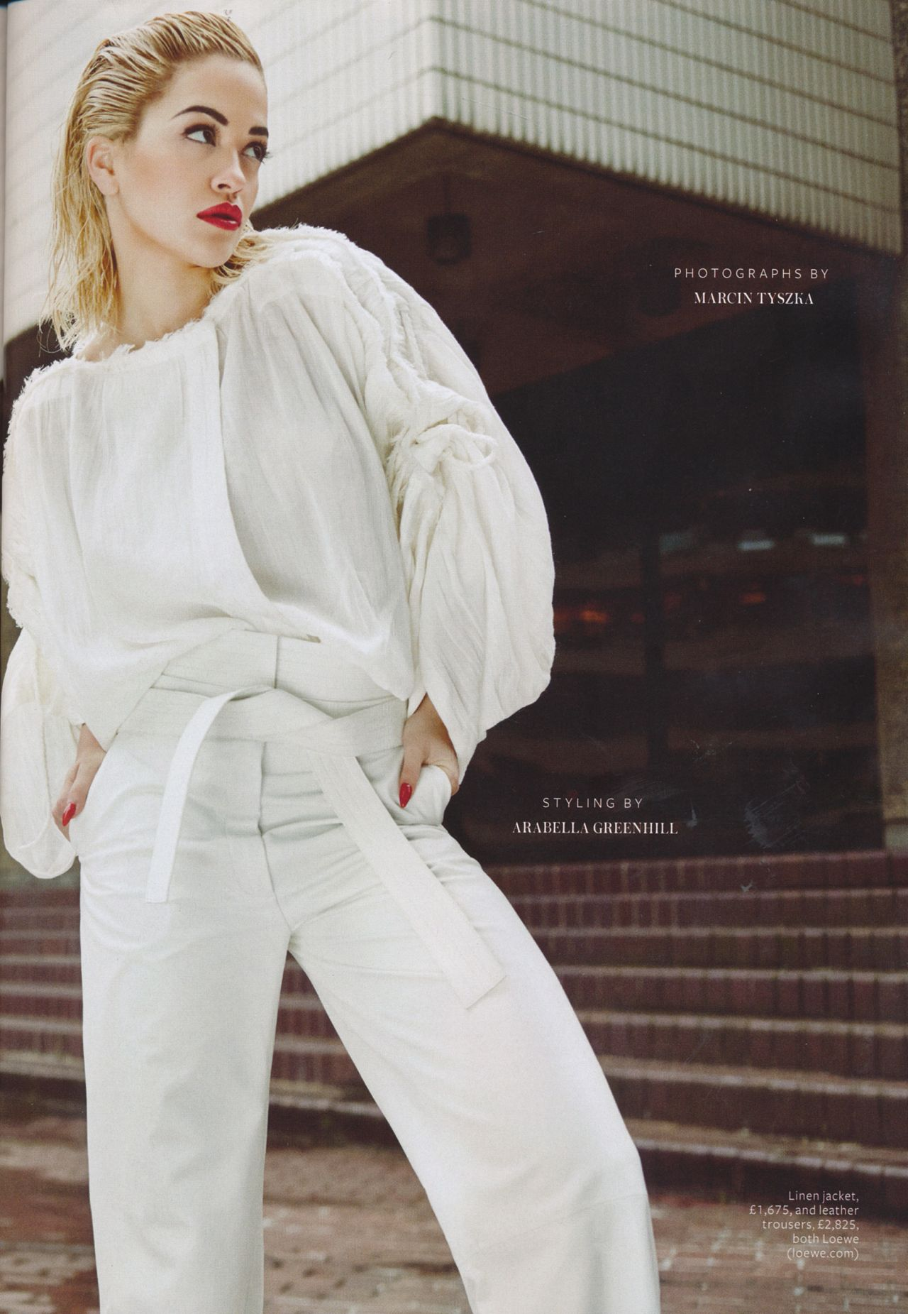 Rita Ora 2015 Celebrity Photos Instyle Magazine Uk April Issue