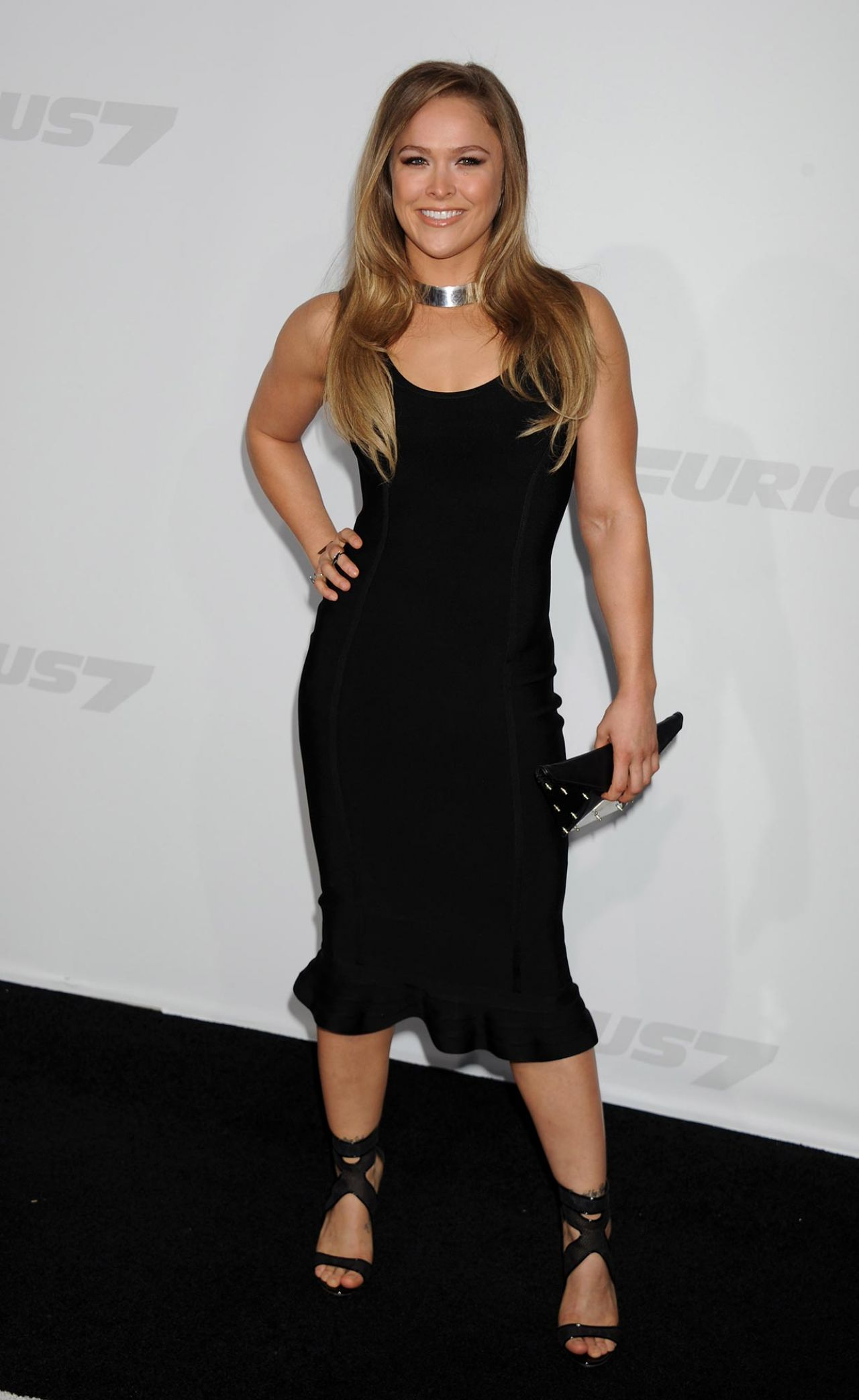 Ronda Rousey Furious 7 Premiere In Hollywood