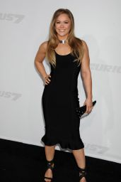 Ronda Rousey – Furious 7 Premiere in Hollywood
