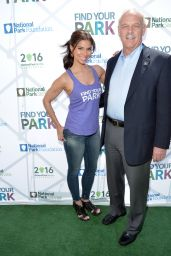 Roselyn Sanchez - Find Your Park Virtual View Tour Event in Los Angeles, April 2015