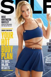Rosie Huntington-Whiteley - Self Magazine May 2015 Cover
