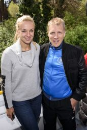 Sabine Lisicki - 2015 UEFA Champions League Trophy Tour in Berlin