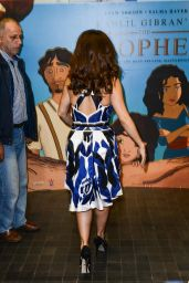 Salma Hayek - Prophet Press Conference in Beirut, Lebanon