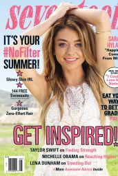 Sarah Hyland - Seventeen Magazine May 2015 Issue