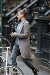 Sarah Jessica Parker Street Style - Out in New York City, April 2015