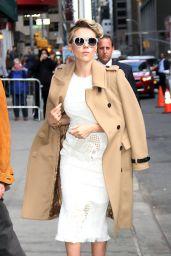 Scarlett Johansson Arriving to Appear on