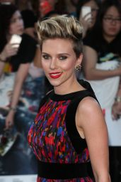 Scarlett Johansson – Avengers: Age Of Ultron Premiere in London