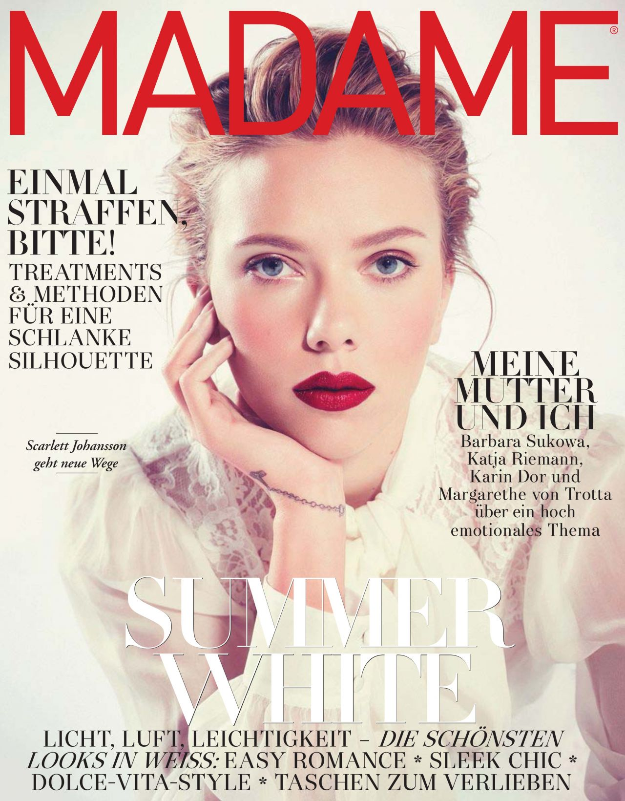 Scarlett Johansson – Madame Magazine (Germany) May 2015 Issue