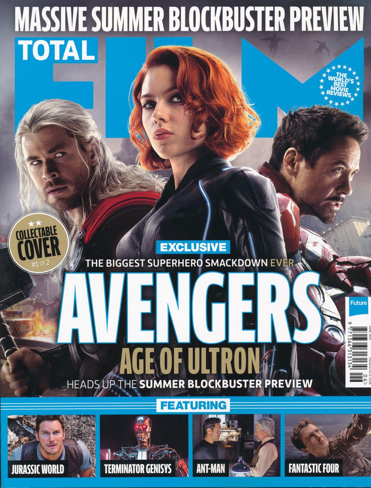 Scarlett Johansson Total Film Magazine June 2015 Cover