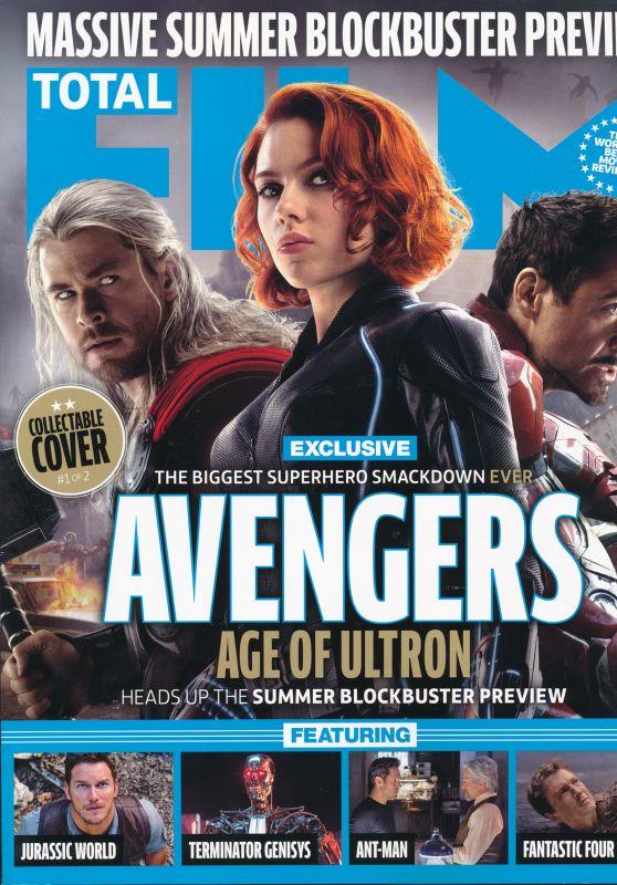 Scarlett Johansson - Total Film Magazine June 2015 Cover